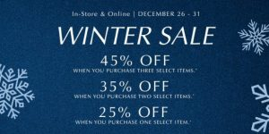 PANDORA's Post-Holiday 2017 Winter Sale