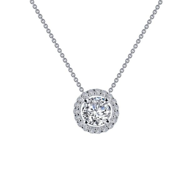 Timeless Halo Necklace