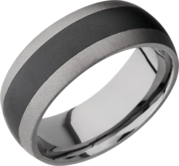 Lashbrook Men's Wedding Ring | TCR8349+SAND