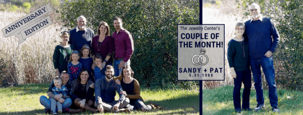 November 2018 Couple of the Month – Sandy & Pat!