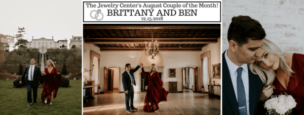 August 2018 Couple of the Month – Brittany & Ben!