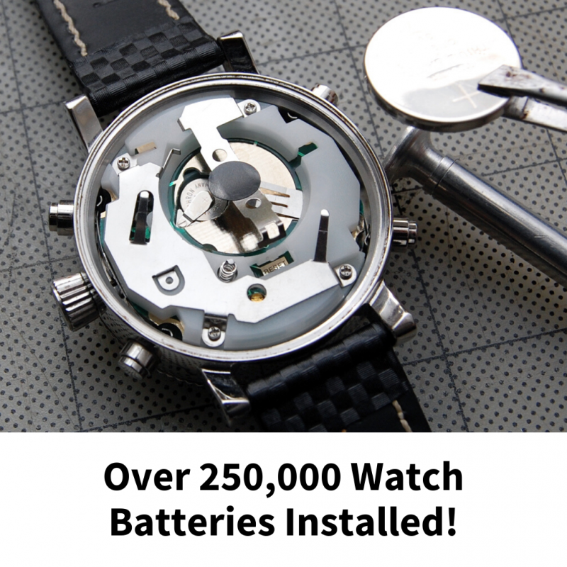 Online Watch Battery Replacement